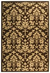 Safavieh Courtyard CY3416-3409 Chocolate and Natural