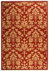 Safavieh Courtyard CY3416-3707 Red and Natural