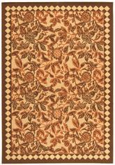 Safavieh Courtyard CY4025C Natural Brown and Terracotta