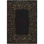 Safavieh Courtyard CY5139D Black and Beige