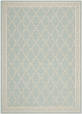 Safavieh Courtyard CY5142-223 Aqua and Beige