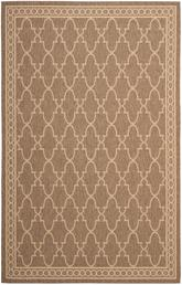 Safavieh Courtyard CY5142B Dark Beig and Beige
