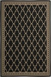 Safavieh Courtyard CY5142D Black and Beige