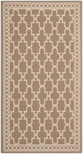 Safavieh Courtyard CY5142Z Dark Beig and Beige