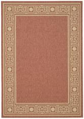 Safavieh Courtyard CY5143A Rust and Sand