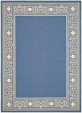 Safavieh Courtyard CY5143C Blue and Beige