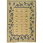 Safavieh Courtyard CY5148F Ivory and Blue