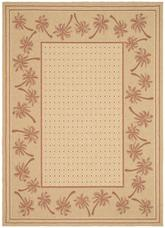 Safavieh Courtyard CY5148J Ivory and Rust