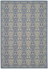 Safavieh Courtyard CY5149C Blue and Ivory