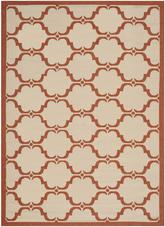 Safavieh Courtyard CY6009-231 Beige and Terracotta