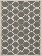 Safavieh Courtyard CY6009-246 Anthracite and Beige
