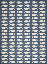 Safavieh Courtyard CY6013268 Navy and Beige