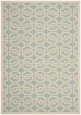 Safavieh Courtyard CY6015-223 Aqua and Beige
