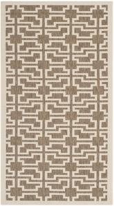 Safavieh Courtyard CY6015-242 Mocha and Beige