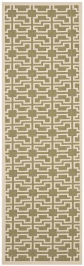 Safavieh Courtyard CY6015-244 Green and Beige