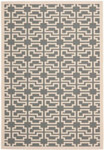 Safavieh Courtyard CY6015246 Grey and Beige