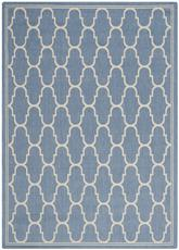 Safavieh Courtyard CY6016243 Blue and Beige