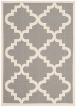 Safavieh Courtyard CY6017246 Anthracite and Beige