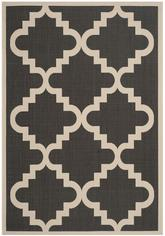 Safavieh Courtyard CY6017266 Black and Beige