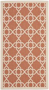 Safavieh Courtyard CY6032-241 Terracotta and Beige