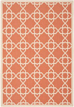 Safavieh Courtyard CY6032241 Terracotta and Beige