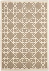Safavieh Courtyard CY6032-242 Brown and Beige