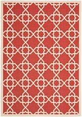 Safavieh Courtyard CY6032-248 Red and Beige