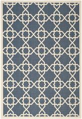 Safavieh Courtyard CY6032-268 Navy and Beige