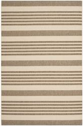 Safavieh Courtyard CY6062-242 Brown and Bone