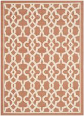 Safavieh Courtyard CY6071-241 Terracotta and Beige