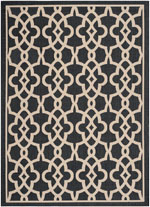 Safavieh Courtyard CY6071266 Black and Beige