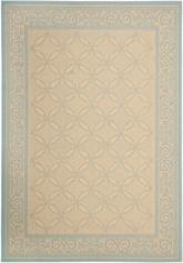 Safavieh Courtyard CY6107-15 Cream and Aqua