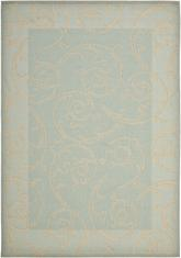 Safavieh Courtyard CY6108-25 Aqua and Cream