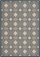 Safavieh Courtyard CY6112-258 Beige and Navy