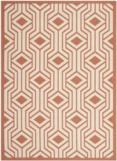 Safavieh Courtyard CY6113-231 Beige and Terracotta