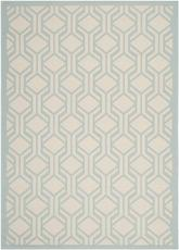 Safavieh Courtyard CY6114-213 Beige and Aqua