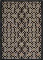 Safavieh Courtyard CY6114-81 Brown and Black