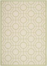 Safavieh Courtyard CY6115-218 Beige and Sweet Pea