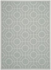 Safavieh Courtyard CY6115-312 Aqua and Light Grey