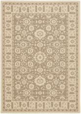 Safavieh Courtyard CY612622 Brown and Creme