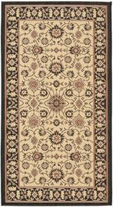 Safavieh Courtyard CY612626 Black and Creme