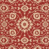 Safavieh Courtyard CY6126-28 Red and Creme