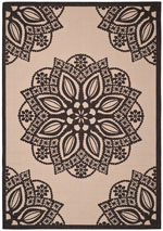 Safavieh Courtyard CY6139256 Beige and Black