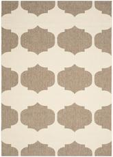 Safavieh Courtyard CY6162-232 Beige and Brown