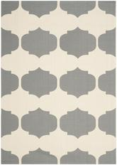 Safavieh Courtyard CY6162-236 Beige and Anthracite
