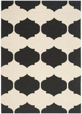 Safavieh Courtyard CY6162-256 Beige and Black