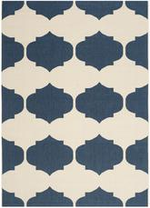 Safavieh Courtyard CY6162-258 Beige and Navy