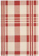 Safavieh Courtyard CY6201-238 Red and Bone