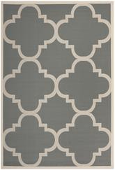 Safavieh Courtyard CY6243-246 Grey and Beige