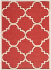 Safavieh Courtyard CY6243-248 Red